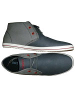 The Greyson Lace-Up Canvas Derby