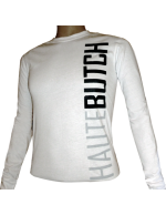 HauteButch White Long-Sleeved Jersey