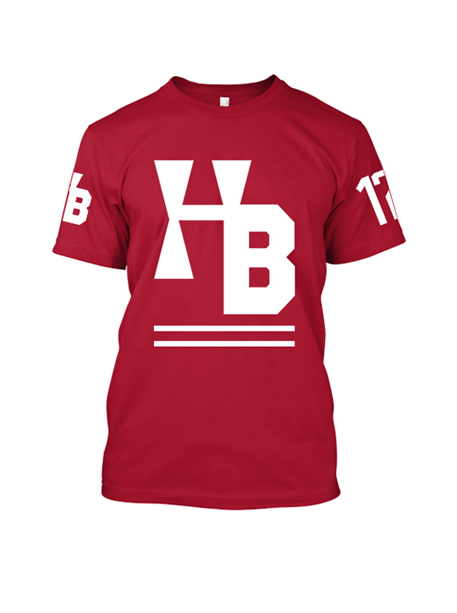 Red Authentic Tee