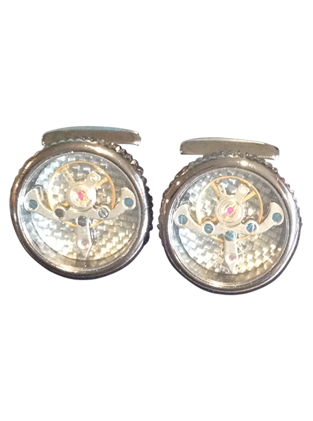 Tourbillon-Mechanical-Watch-Cufflinks