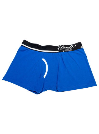 Navy Tomboy Truncs, Butch Boxer Truncs