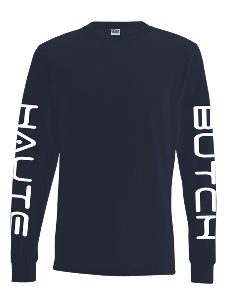 Navy SFNYLA Pullover Front