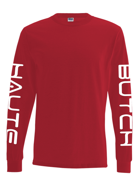 Red SFNYLA Pullover Front