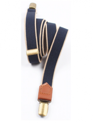 Blue Unisex Suspenders